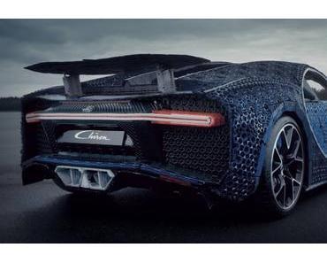 1:1 Bugatti Chiron aus LEGO Technic – Ja, auch der Motor