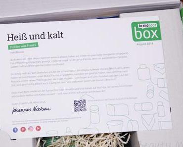brandnooz Box August 2018