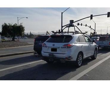 Unfall mit autonomen Apple-Auto: KI zu achtsam