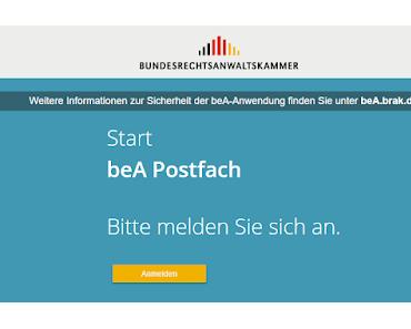 beA - Das besondere elektronische Anwaltspostfach im Testbetrieb
