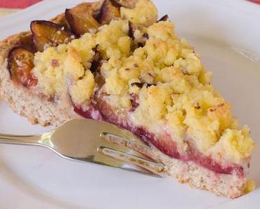 Schneller Markgräfler Zwetschgen-Streusel-Kuchen mit Quark-Öl-Teig