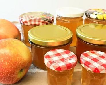 Selber einmachen: Feiner, goldener Apfel-Gelee