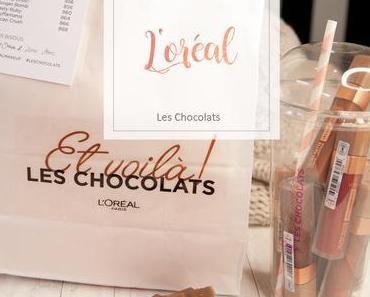 L'Oreal -  Matte Les Chocolats Liquid Lipsticks - Swatches & Review