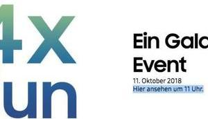 Samsungs Galaxy-Event Oktober