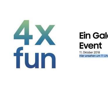 Samsungs Galaxy-Event am 11. Oktober
