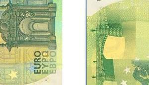 Neue Hundert- Zweihundert-Euro-Geldscheine