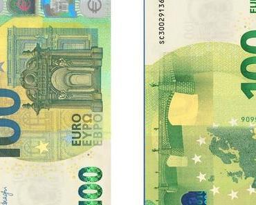 Neue Hundert- und Zweihundert-Euro-Geldscheine