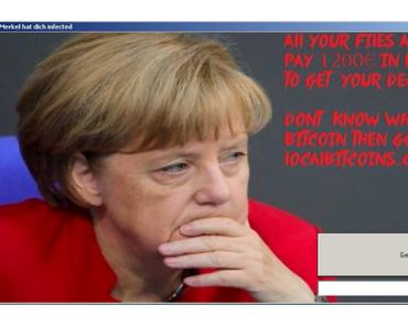 """Der Erpressungstrojaner """"Angela Merkel"""""""