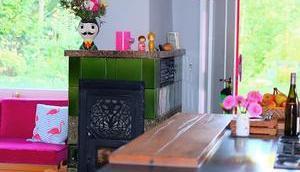 Renovierung neue Küche neues Gäste eine Haustür