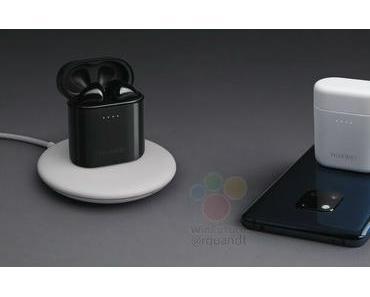 Huawei Mate 20 Pro und Freebuds 2 Pro zeigen sich auf Pressebild