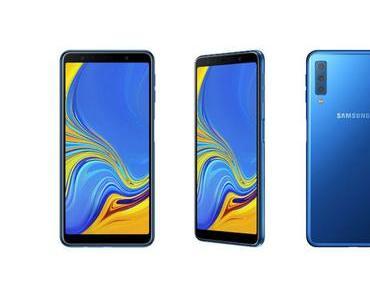 Samsung Galaxy A7 mit Triple-Kamera offiziell vorgestellt