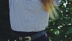 Style Schwarzer Faltenrock