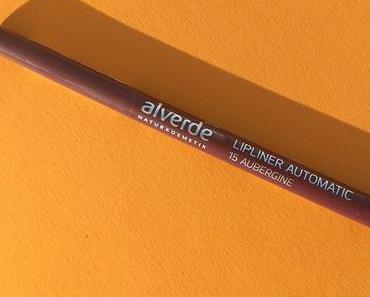 [Werbung] alverde Lipliner Automatic 15 Aubergine + Biotherm Aquasource Gel