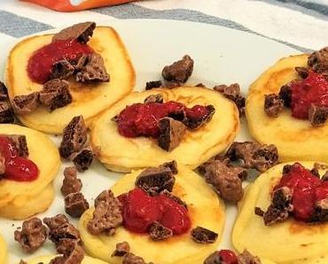 So schmeckt Amerika: Pancakes on the rocks