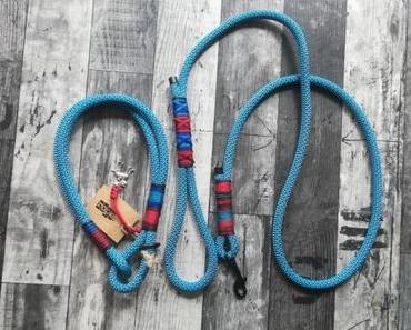 rope. Halsband und Leine