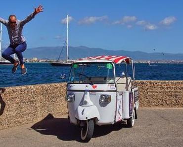Die besten Sehenswuerdigkeiten von Cagliari - Ape calessino Cagliari Touring