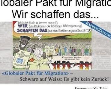 Deutschlands regierende Politiker stimmen am 10.12.2018 den Global Compact for Migration in Marrakesch zu
