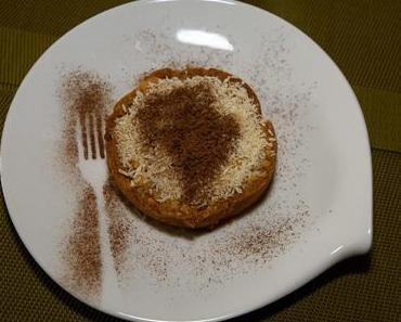 Kokosnusstörtchen mit Apfelmus (ovo-lacto-vegetarisch)