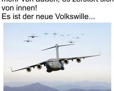 Deutschland braucht keinen Krieg von außen, es zerstört sich von innen selbst. Es ist der Volkswunsch und wird mit jeder Wahl erneut bestätigt
