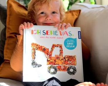 Unser Kinderbuch-Tipp: Ich sehe was, was Du nicht siehst - Die total verrückten Fahrzeuge & VERLOSUNG