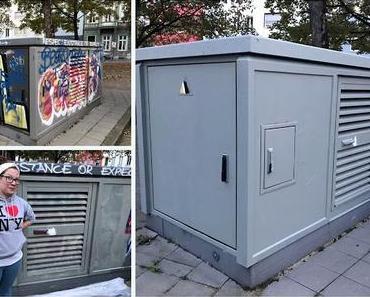 Unsere Stadt soll bunter werden! - STAWAG Street- Art Aktion