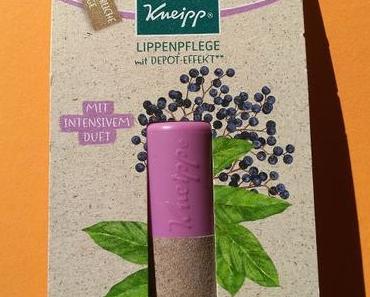 [Werbung] Kneipp Lippenpflege mit Depot-Effekt Holunder Karité Sinnlich