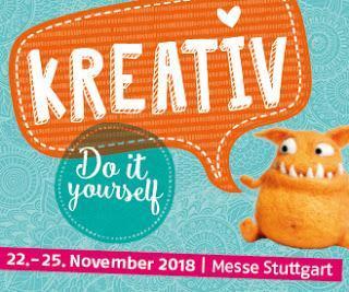 Verlosung: Eintrittskarten für die KREATIV Messe in Stuttgart