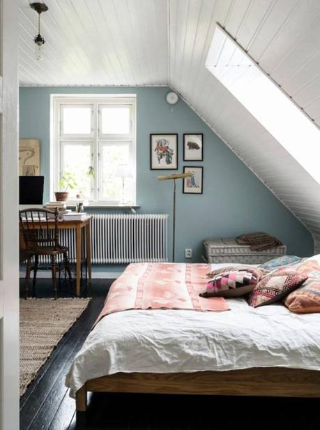 Reizvoll Schlafzimmer Schräge Design