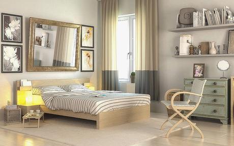 Beliebt Bodenbelag Schlafzimmer Design