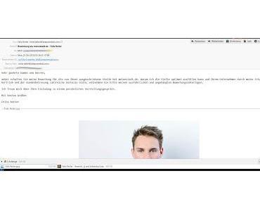 Bewerbung von Felix Reiter