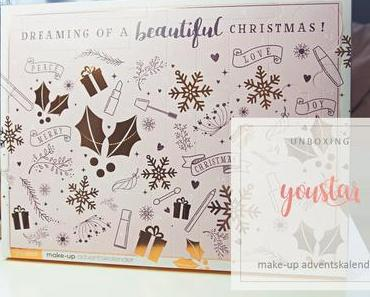 YOUSTAR - BEAUTIFUL X-MAS Adventskalender 2018 - unboxing