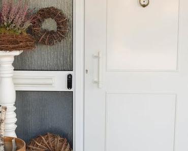 Mein Hauseingang: renoviert und smart gesichert mit YALE ENTR
