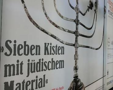 """Unsere neue Ausstellung """"Sieben Kisten mit jüdischem Material"""" – Von Raub und Wiederentdeckung 1938 bis heute wird aufgebaut"""