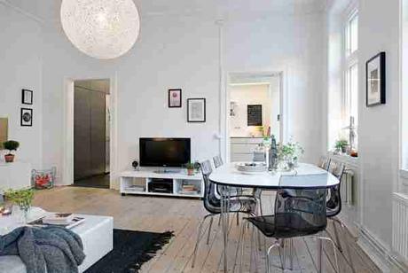 Lieblich Kleines Wohnzimmer Mit Essbereich Einrichten Design