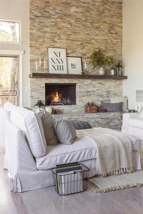 Atemberaubend Steinwand Wohnzimmer Selber Machen Ideen