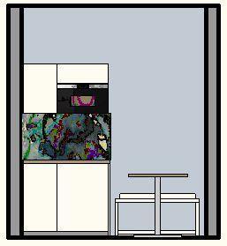 Personalraum und Kundentoilette