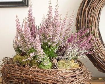 Natürliches Arrangement für Herbst und Winter einfach und schnell selbst gemacht!