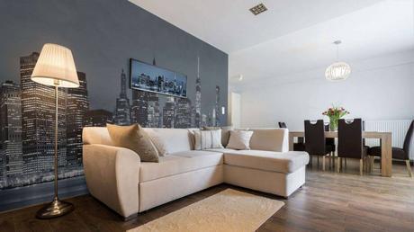 grazi s graue wandfarbe wohnzimmer design. Black Bedroom Furniture Sets. Home Design Ideas