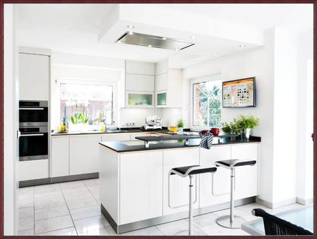 Interessant Offene Küche Wohnzimmer Abtrennen Design