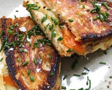 Spanisches Grilled Cheese Sandwich/ Spanish Grilled Queso (Deutsch & English)