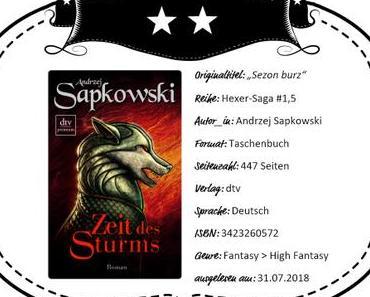 Andrzej Sapkowski – Zeit des Sturms