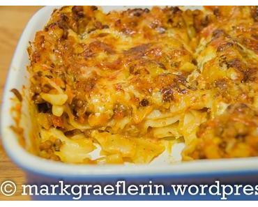Kürbis-Linsen Lasagne