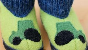Immer warme Füße Neue Hüttenschuhe Pololo