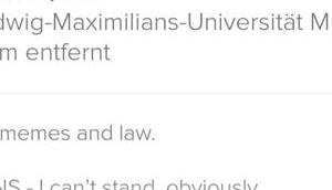 Tinder-Profil Tages: can't stand, obviously