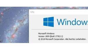 Herbstupdate Windows 1809 wieder freigegeben