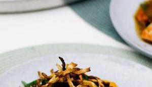 LIEBE GEHT DURCH MAGEN! Teriyaki-Lachs cremigen Süßkartoffel-Kokosmilch-Püree Selleriestroh
