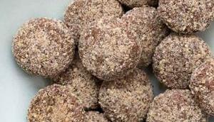 Dattelkekse Mandeln (Plätzchen ohne Zucker)