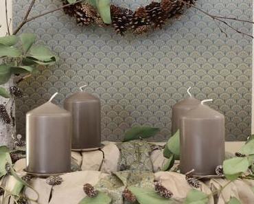DIY Adventskranz aus Papier, Zapfenketten und eine kreativ schöne Adventszeit mit arsEdition + Verlosung für euch