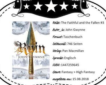 John Gwynne – Ruin