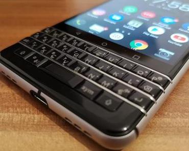 Blackberry KEYone – Review und Gewinnspiel